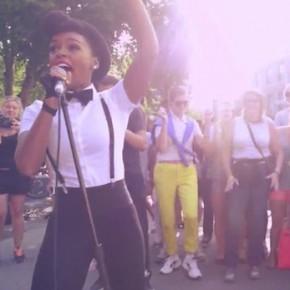 Janelle Monáe zaskoczyła ulicznych muzyków