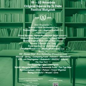 Original Source Up To Date w Białymstoku - czyli co powinieneś wiedzieć przed festiwalem