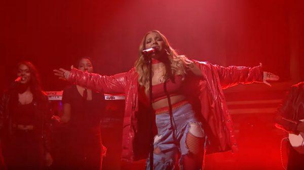 Ognisty występ Tinashe