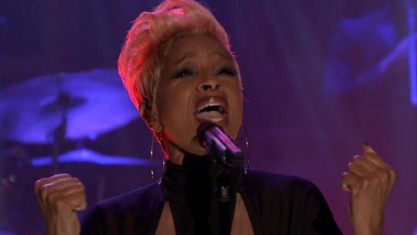 Mary J. Blige nażywo uJimmy'ego Fallona