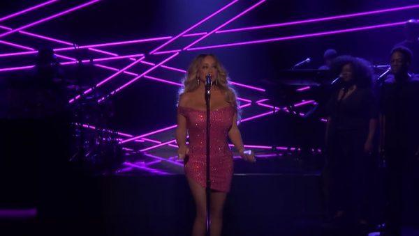 Mariah Carey zsinglem The Distance nazywo uJimmyego Fallona