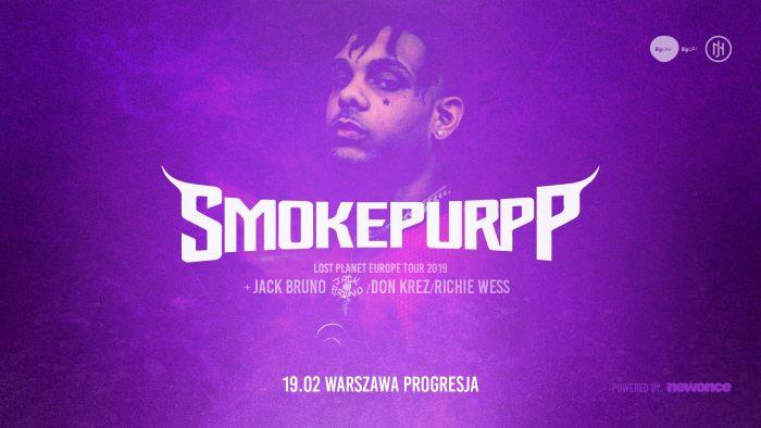 Smokepurpp nakoncercie wWarszawie