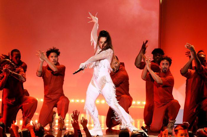 Rosalía Grammy 2020 Live