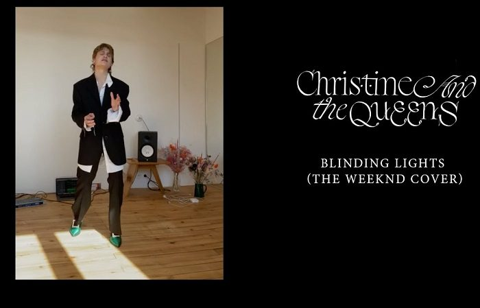 christine and the queens blinding lights the weeknd cover